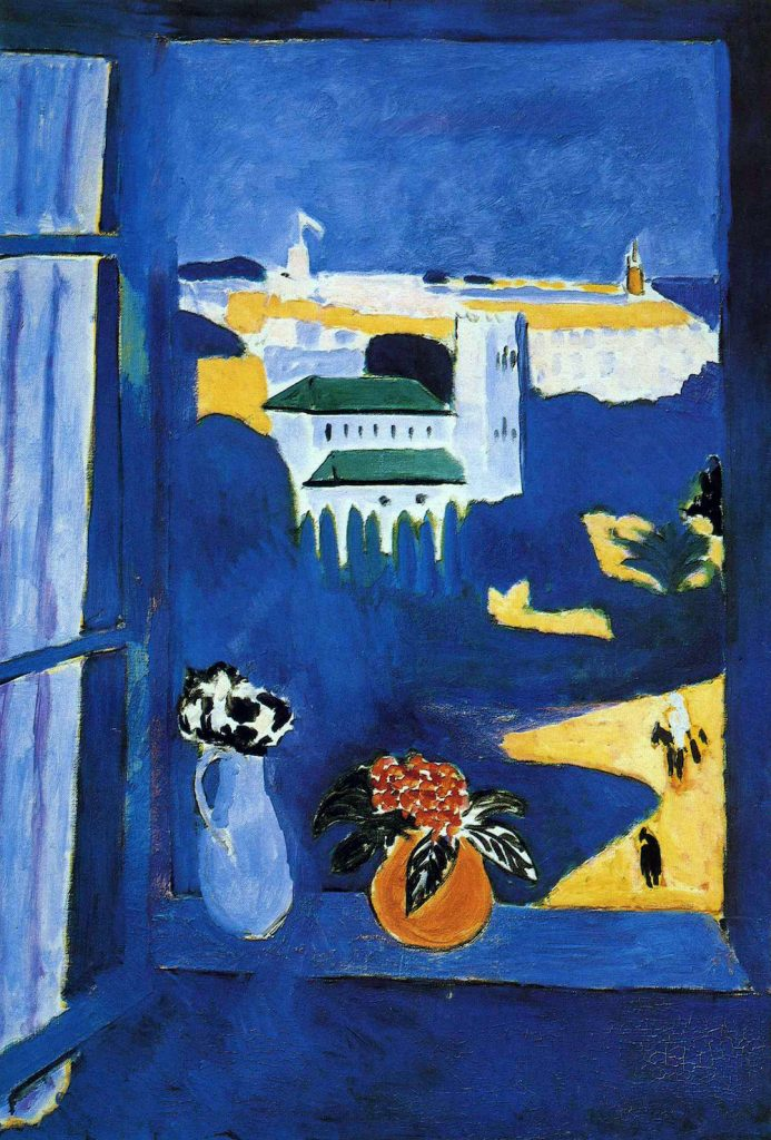 Matisse gorgeous painting of Tangier, Morocco