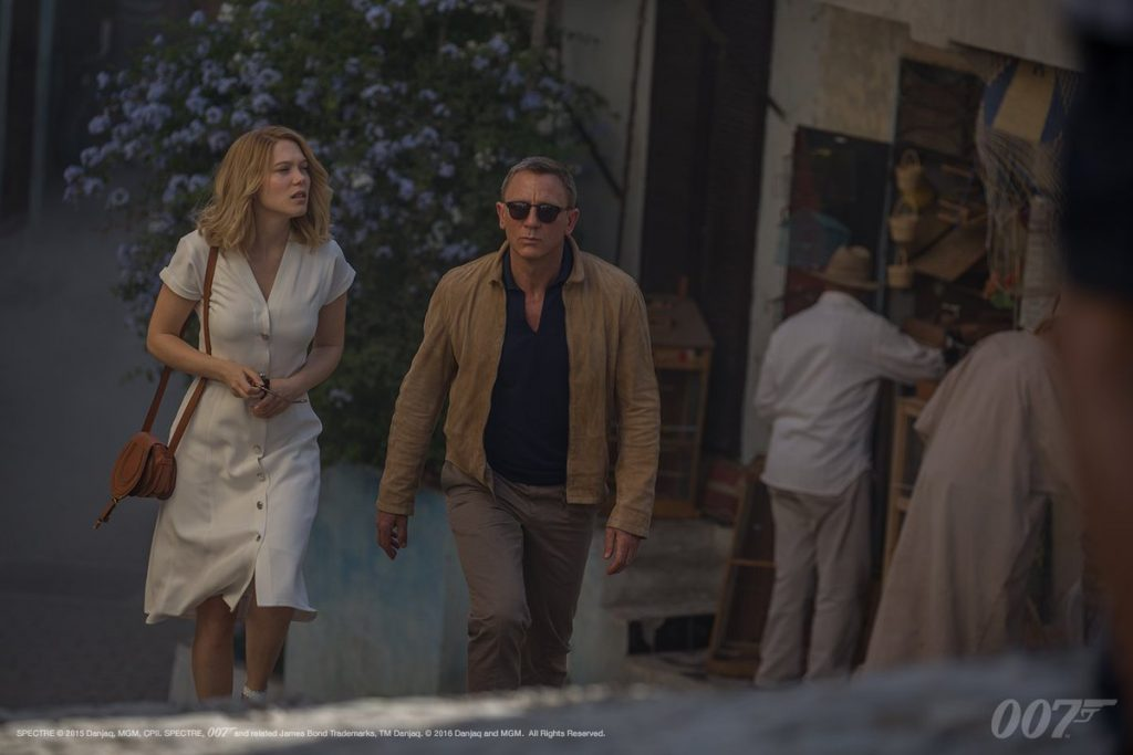 Several James Bond movies were shot in Tangier, Morocco