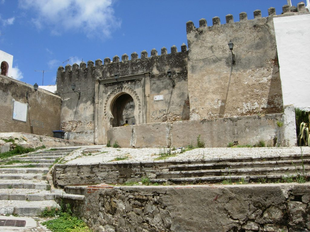 Tangier Kasbah, ancient castle, is still standing in the heart of the Medina