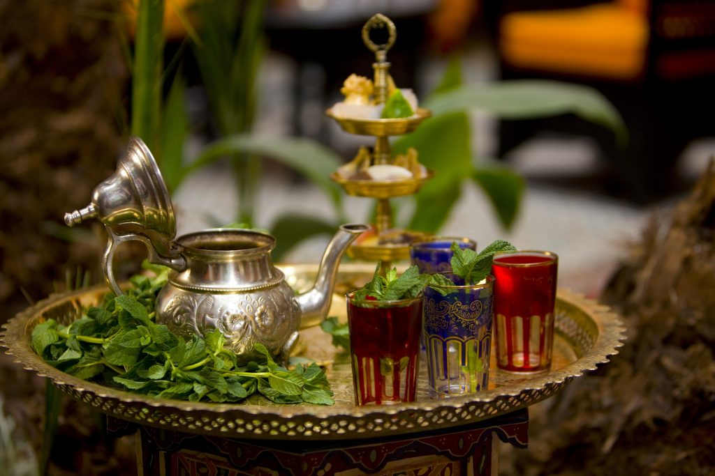 delicious Moroccan Mint Tea originated in Tangier, Morocco as part of its rich culture