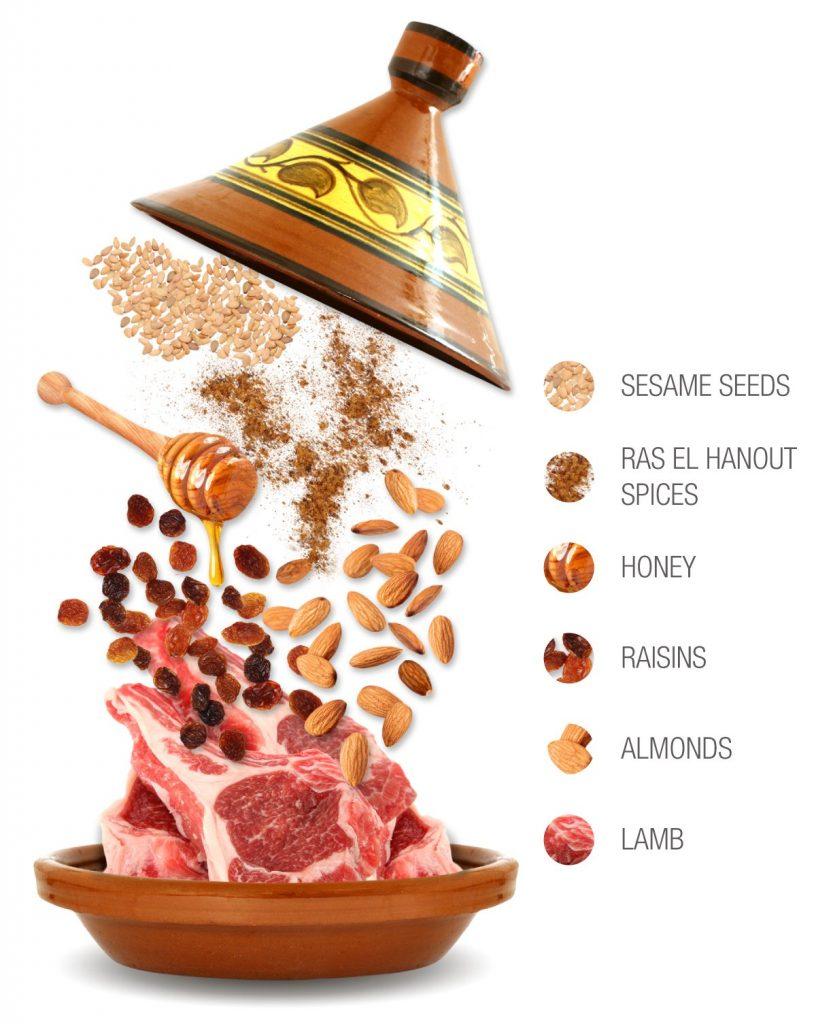 Marouziya ingredients